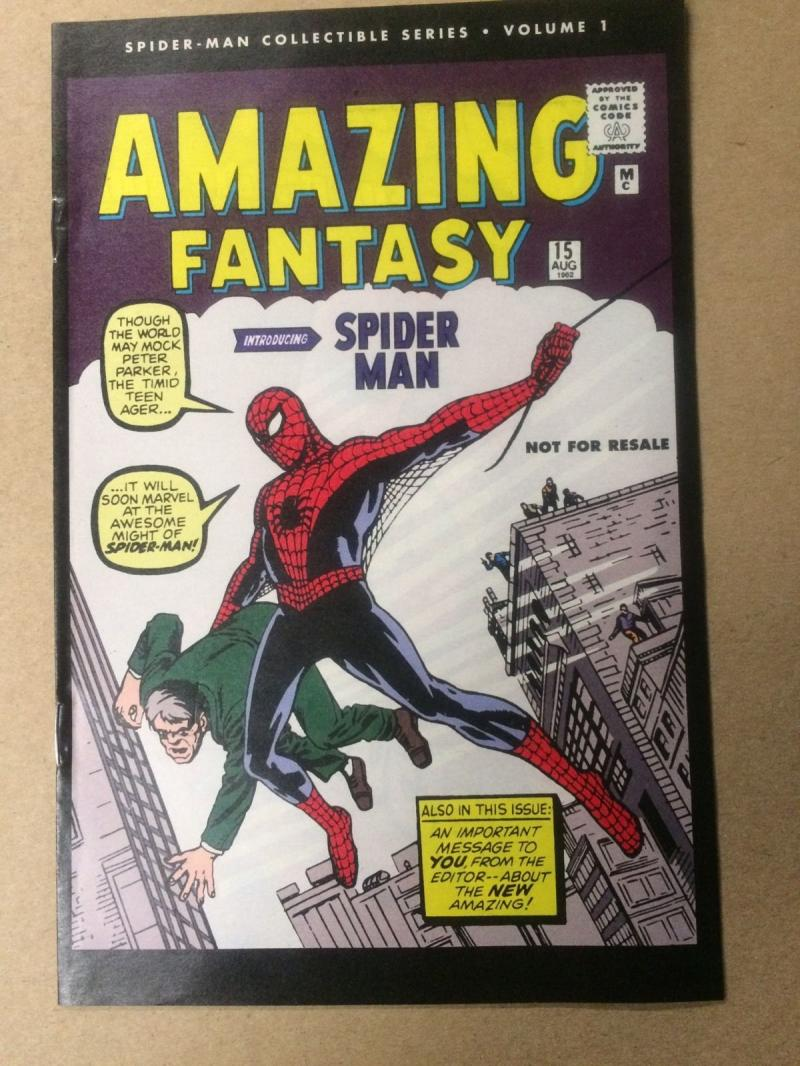 AMAZING FANTASY #15, VF/NM, Reprint, Spider-man, 2006, Peter Parker, Marvel