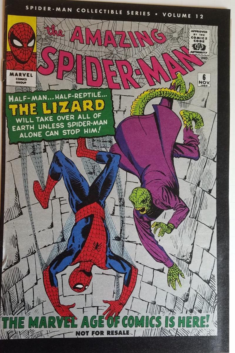 AMAZING SPIDER-MAN #6, VF+, Reprint, Lizard, 2006, Peter Parker, Marvel, a