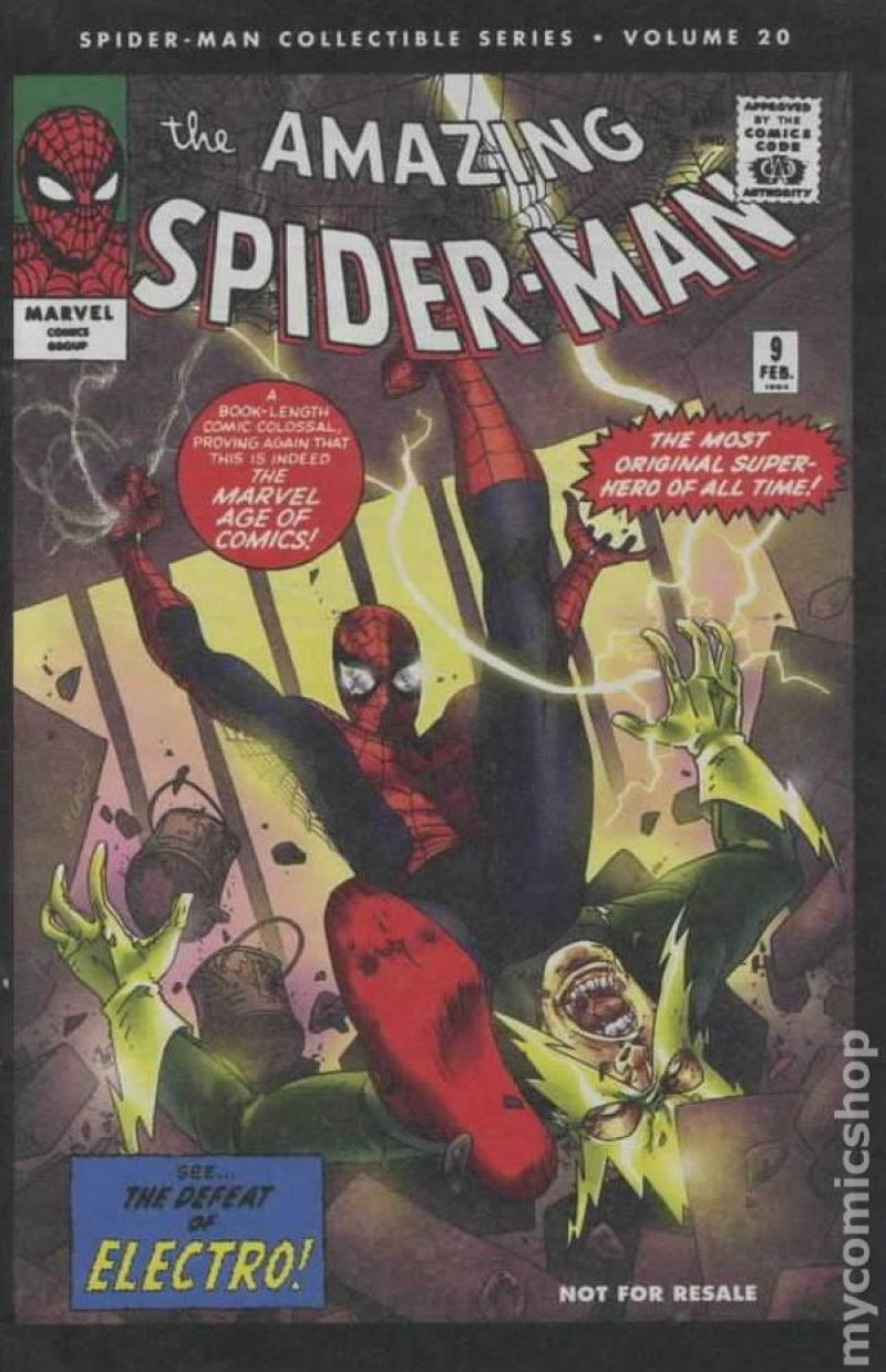 AMAZING SPIDER-MAN #9, VF+, Reprint, Electro, 2006, Peter Parker, Marvel, 20