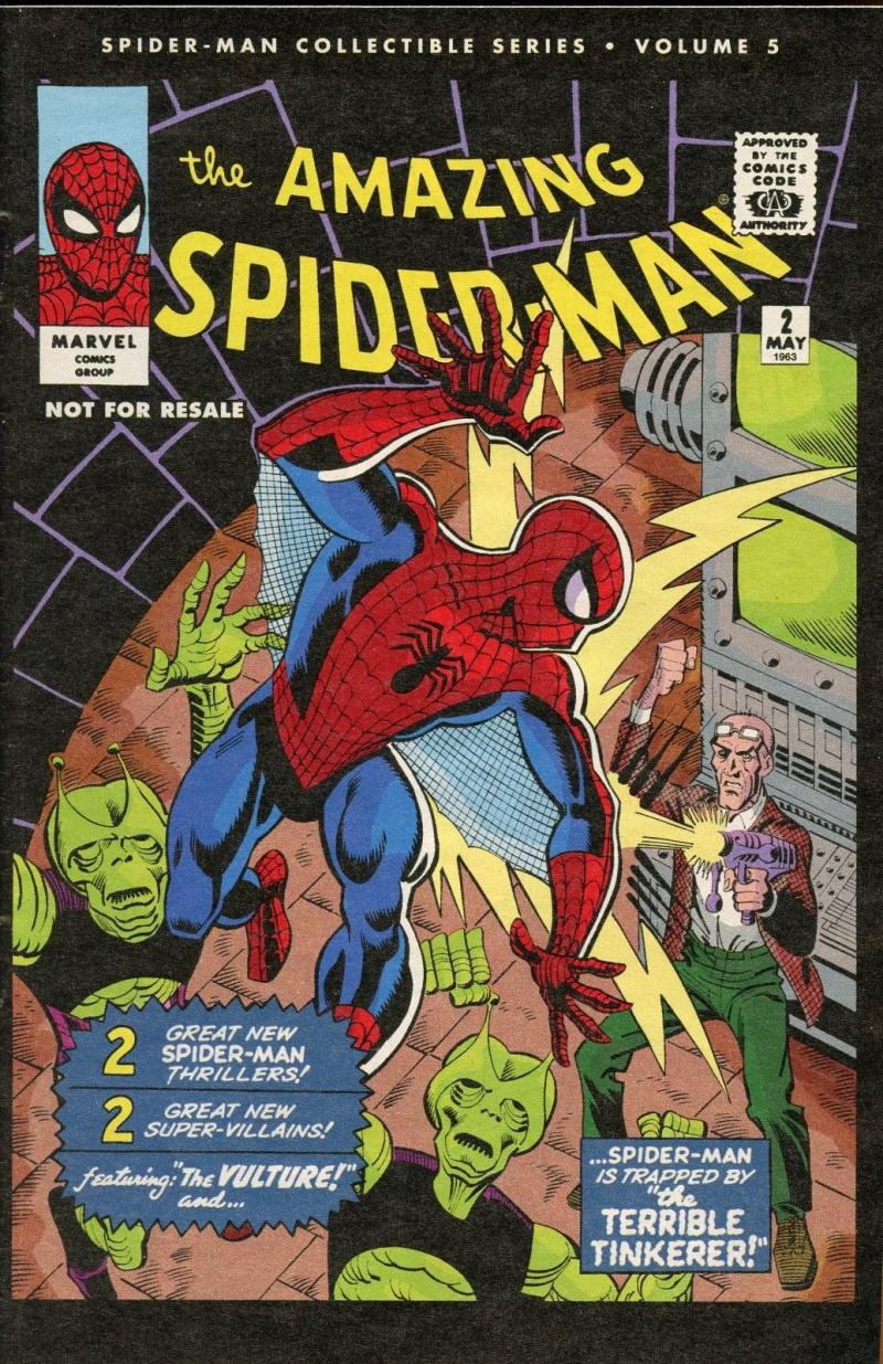AMAZING SPIDER-MAN #2, VF+, Reprint, Vulture, 2006, Peter Parker, Marvel, 5