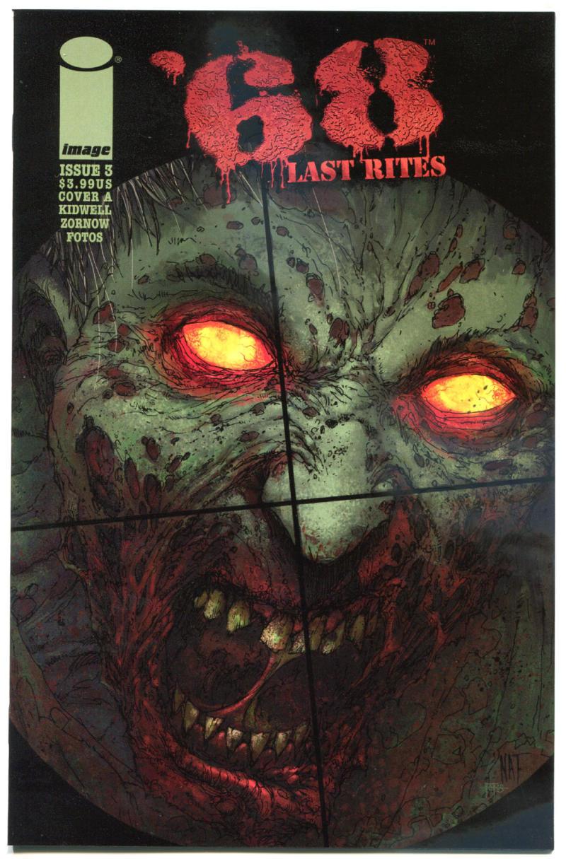 '68 LAST RITES #3, VF/NM, Zombie, Walking Dead, Vietnam, 2015, Horror