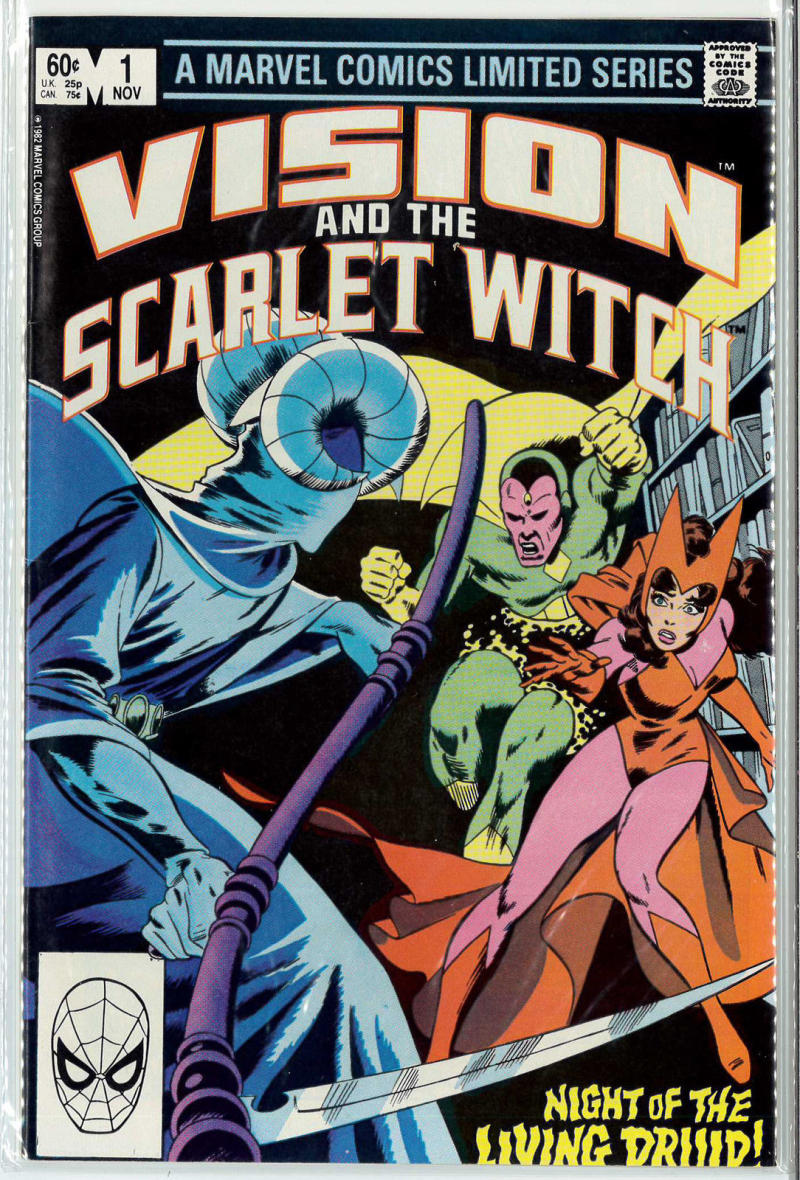VISION AND THE SCARLET WITCH #1, VF/NM, Living Druid, Marvel 1982 more in  store | eBay