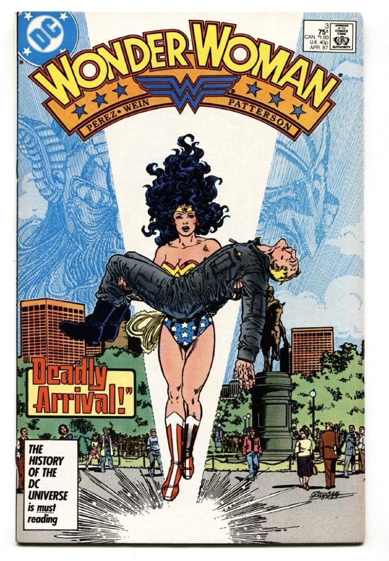 WONDER WOMAN #3, VF/NM, Perez, Gods, Julia Vanessa, Amazon, 1987, more WW in store
