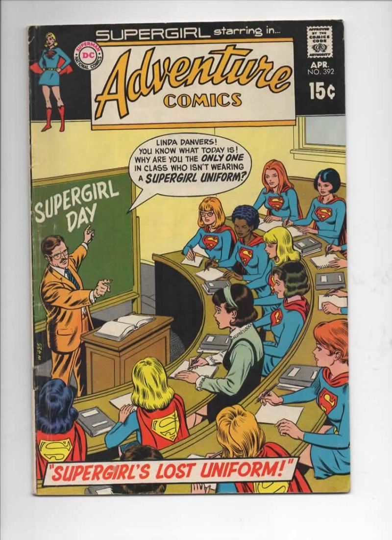 ADVENTURE COMICS #392, VG/FN, SuperGirl, Linda Danvers, 1938 1970, more in store