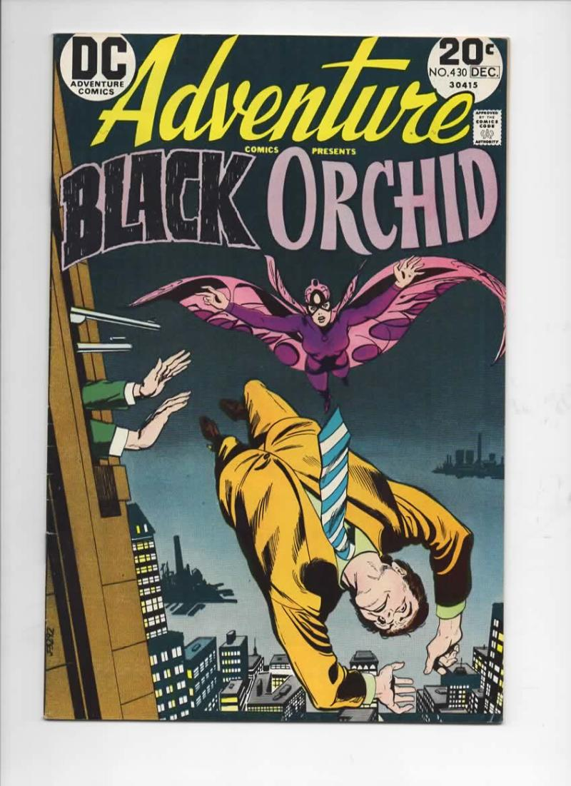 ADVENTURE COMICS #430, FN+, Tony DeZuniga, Black Orchid, 1938 1973, more in store