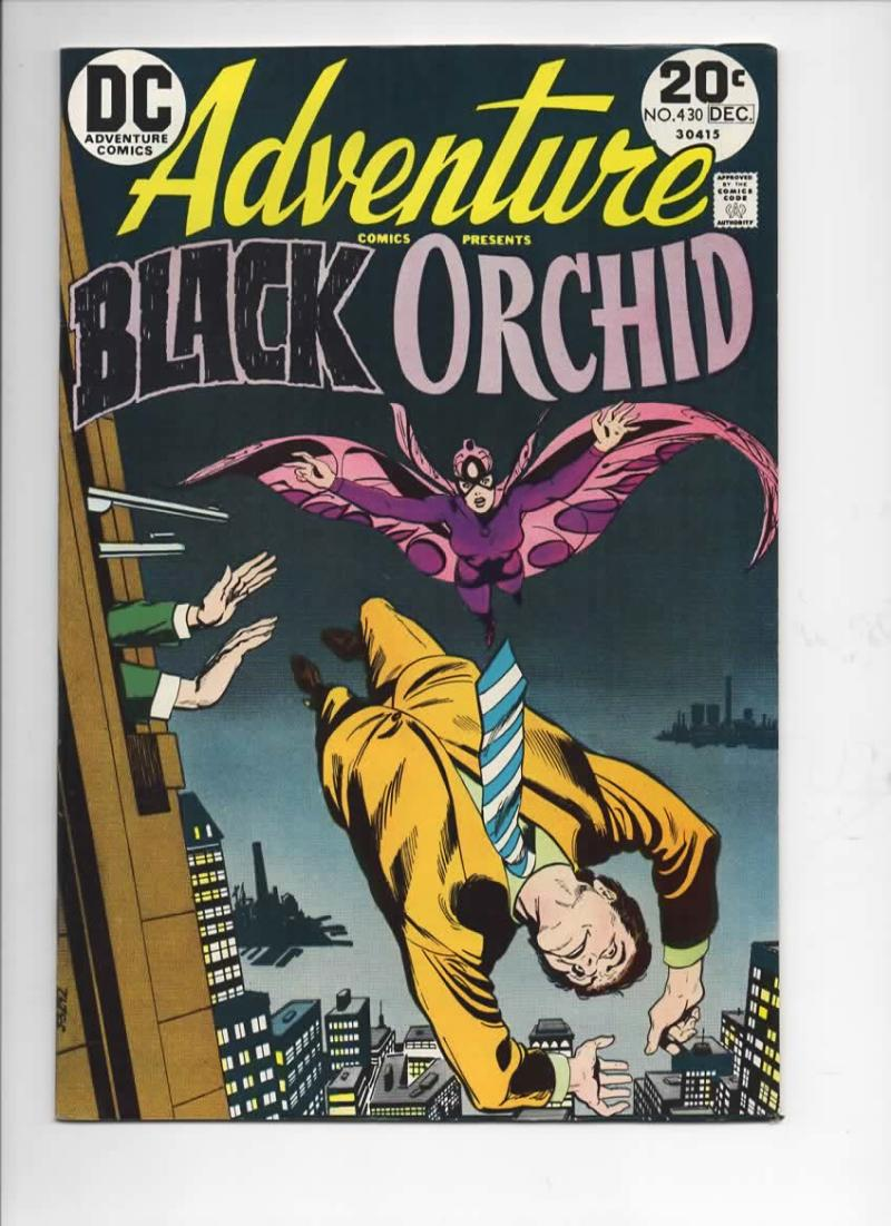 ADVENTURE COMICS #430, VF/NM, Tony DeZuniga, Black Orchid, 1938 1973, more in store