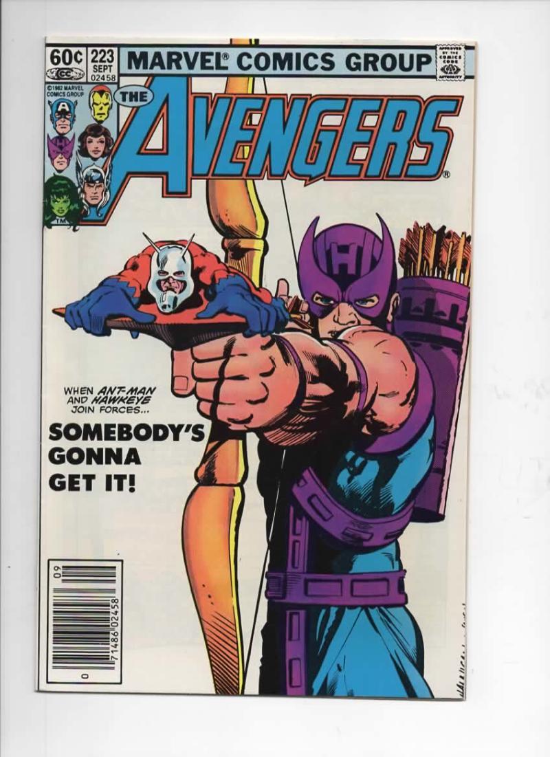 AVENGERS #223, VF/NM, TaskMaster, Ant-man, 1963 1982, more Marvel in store
