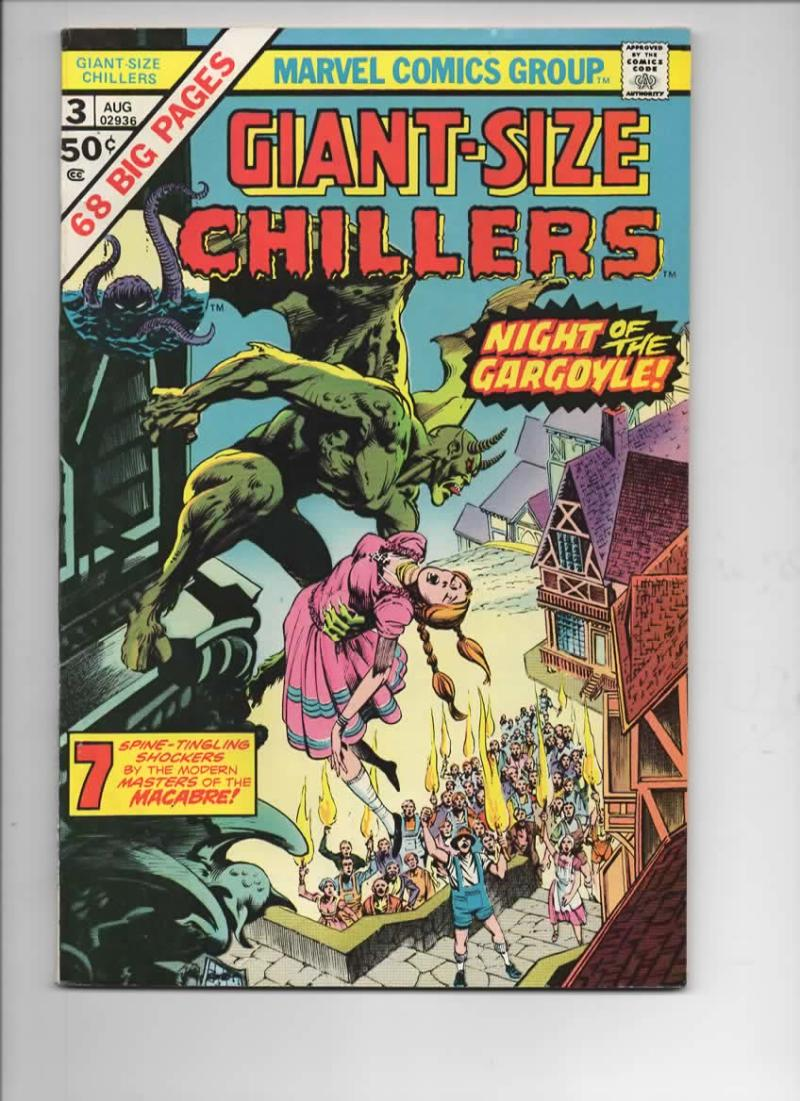 GIANT-Size CHILLERS #3, VF, Bernie Wrightson, Barry Smith, 1974, more in store