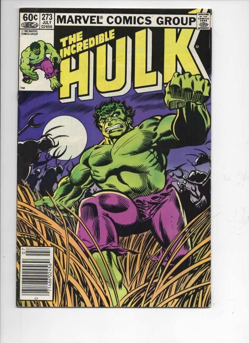 HULK #273, VF, Incredible, Bruce Banner, Buscema, 1968 1982, Marvel