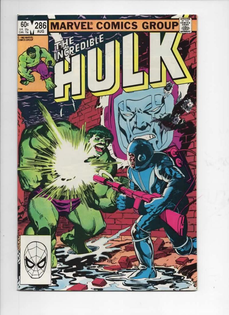 HULK #286, NM-, Incredible, Bruce Banner, Buscema, 1968 1983, Marvel