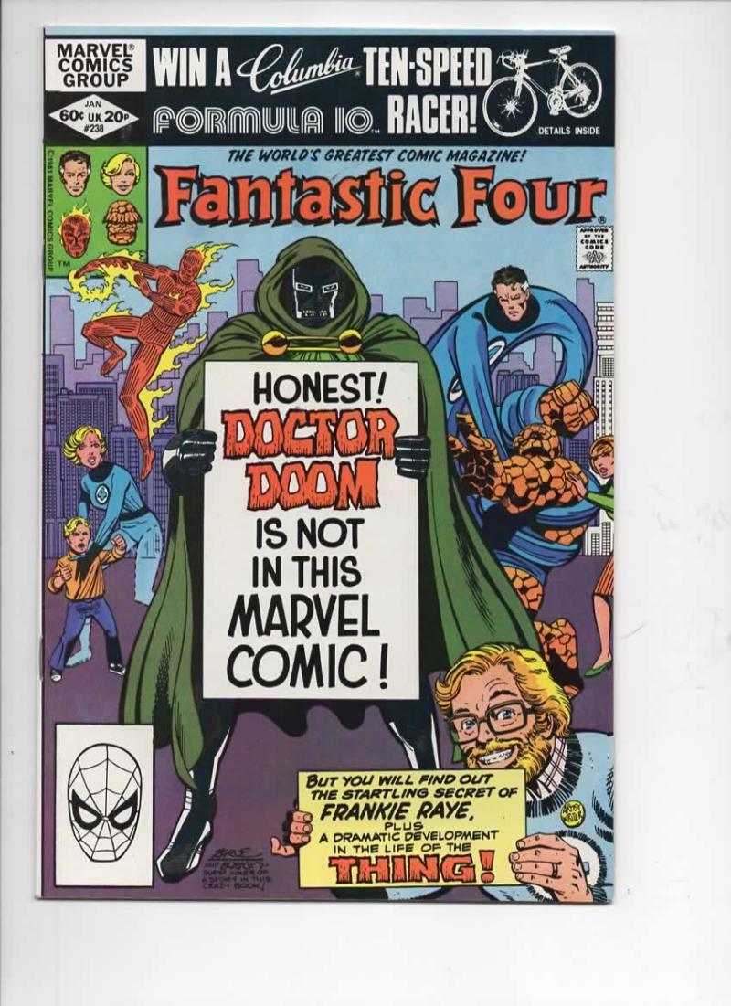 FANTASTIC FOUR #238, VF/NM, Dr Doom, Frankie Raye, 1961 1982, Marvel, more FF in store