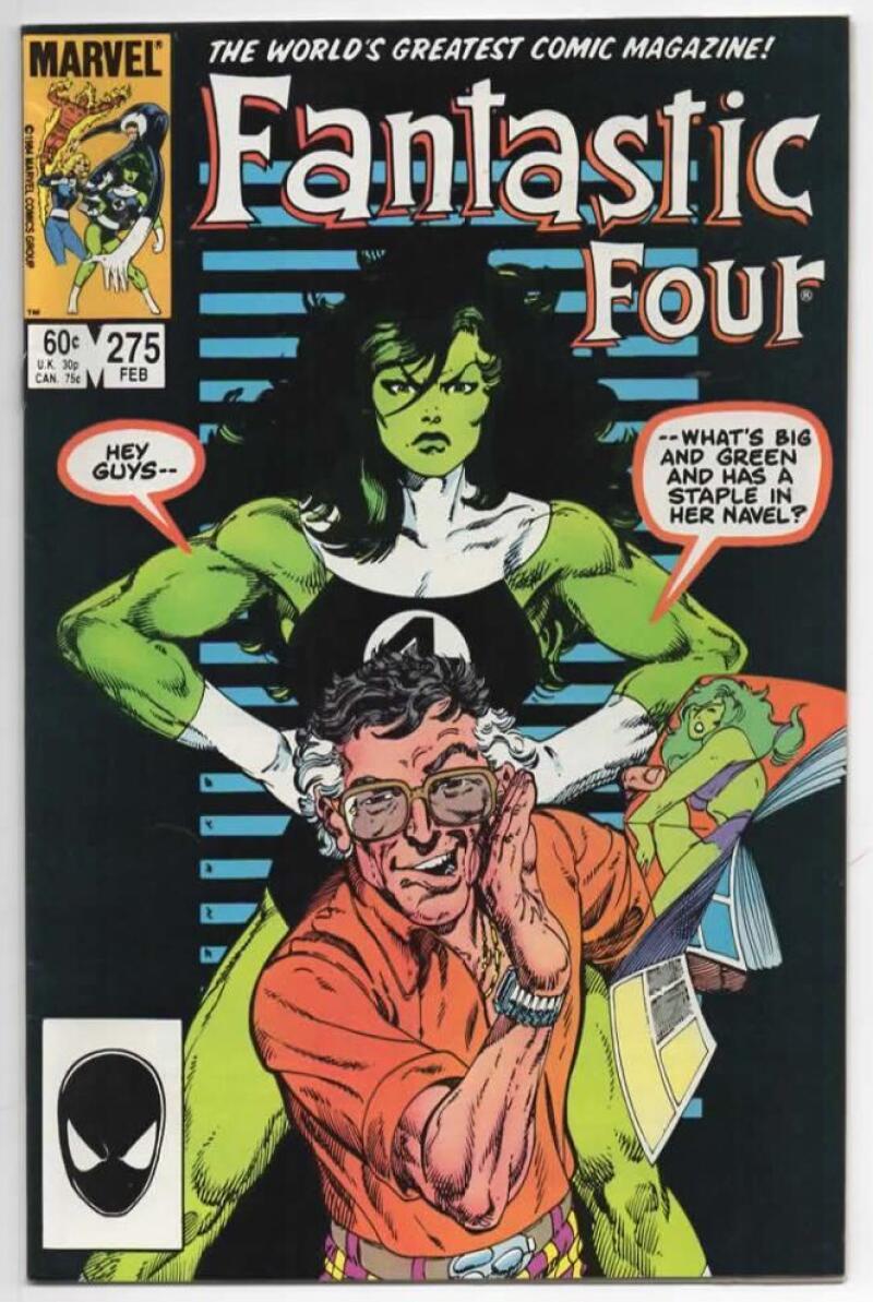 FANTASTIC FOUR #275 VF+ She Hulk Byrne 1961 1985 Marvel, more FF in store