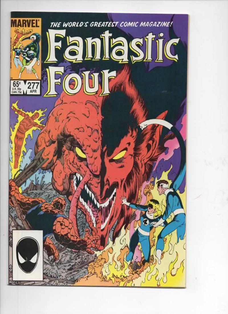 FANTASTIC FOUR #277 NM Dr Strange Byrne 1961 1985 Marvel, more FF in store