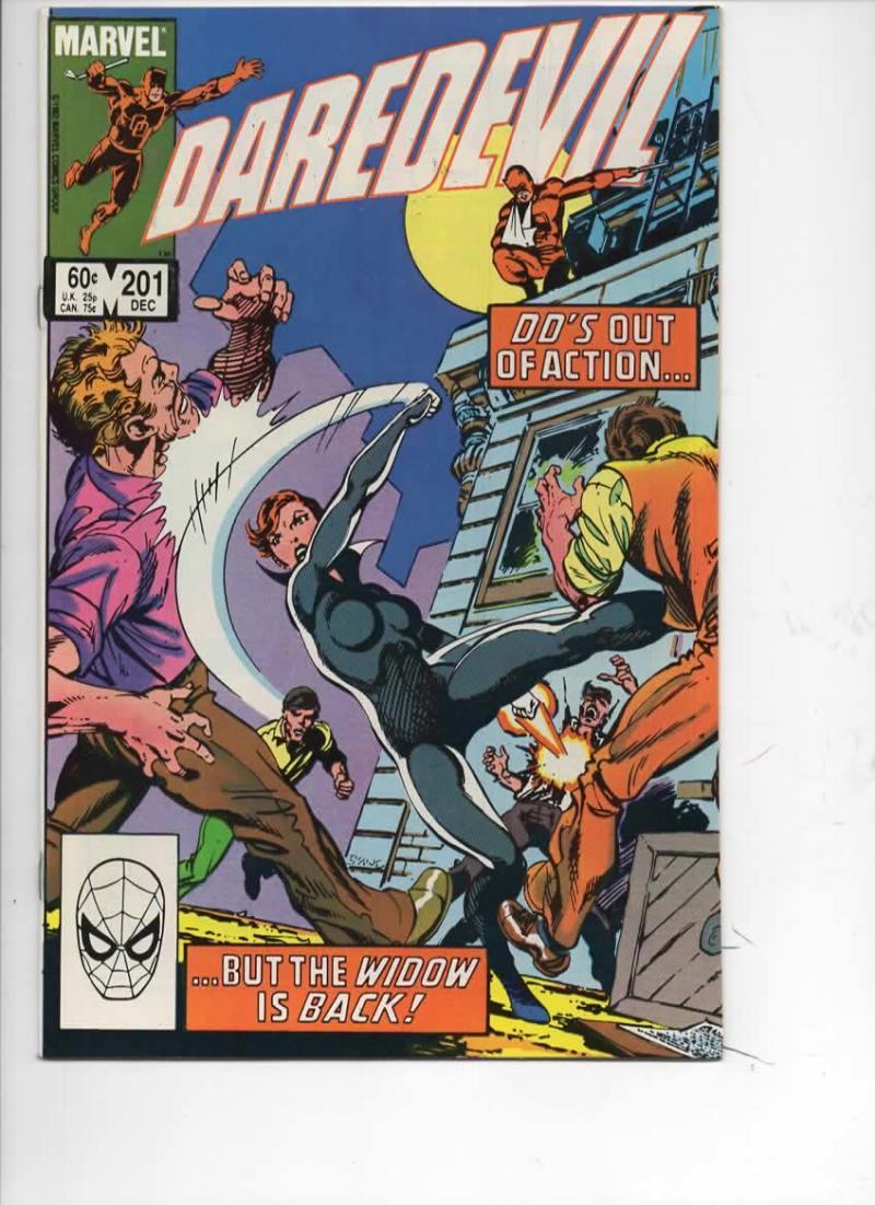 DAREDEVIL #201 VF+  Murdock, Black Widow, 1964 1983, more Marvel in store