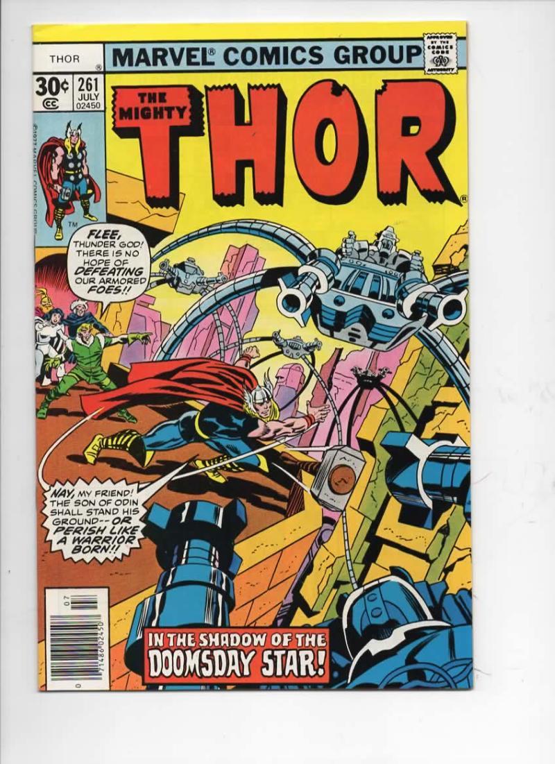 THOR #261 VF God of Thunder Simonson Ernie Chan 1966 1977, more Thor in store