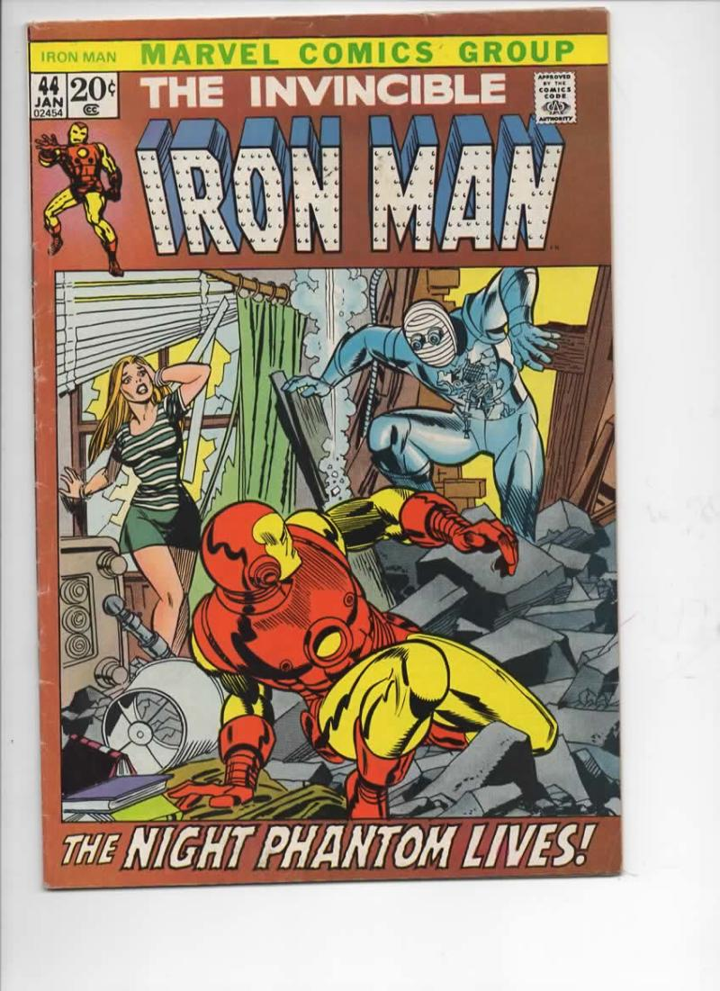 IRON MAN #44, VG+, Tony Stark, Tuska, Ant-Man, 1968 1972, more IM in store