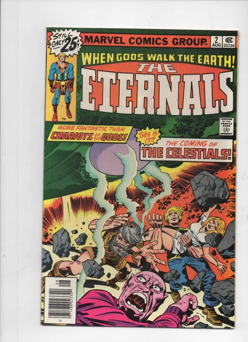 ETERNALS #2, NM-, Jack Kirby, Marvel, 1st Ajak, Celestials, 1976, more in store