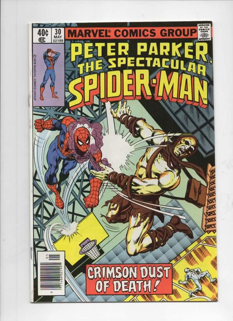 Peter Parker SPECTACULAR SPIDER-MAN #30 VF/NM, Dust 1976 1979 more in store