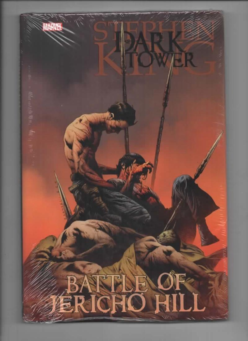 Stephen King DARK TOWER the GUNSLINGER - Battle of JERICHO HILL, NM, FN/FN Hardcover 2010, factory sealed