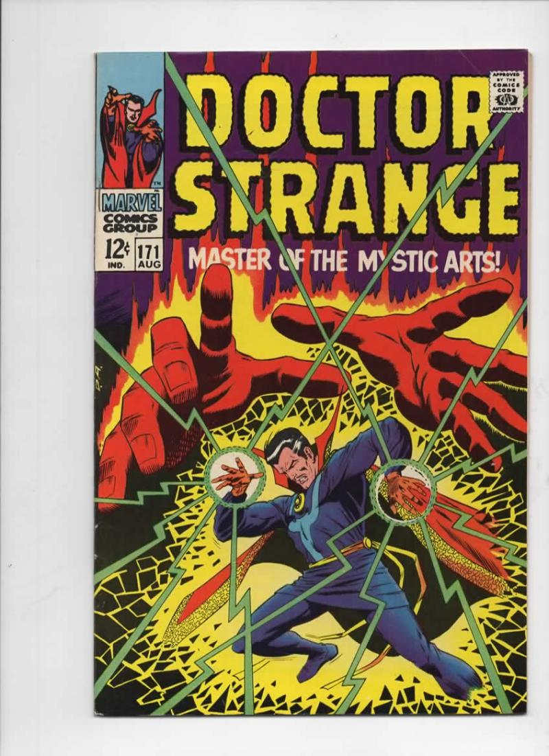DOCTOR STRANGE #171, VF, Mystic Arts, Tom Palmer,1968, more DS in store, Dr