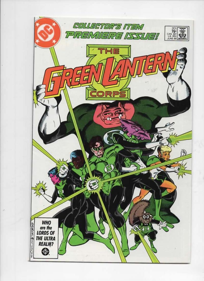 GREEN LANTERN #201, FN, Kilowog, Corps, DC, 1960 1986 more in store