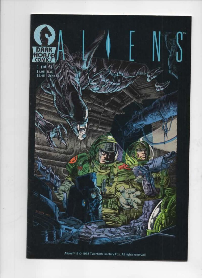 ALIENS #1, FN/VF, Mark Verheiden, Mark Nelson, 1988, 1st, more Horror in store