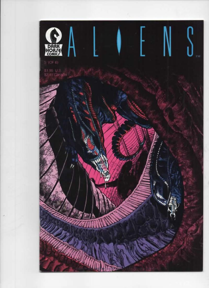 ALIENS #5, VF+, Mark Verheiden, Mark Nelson, 1988 1989, 1st, more Horror in store