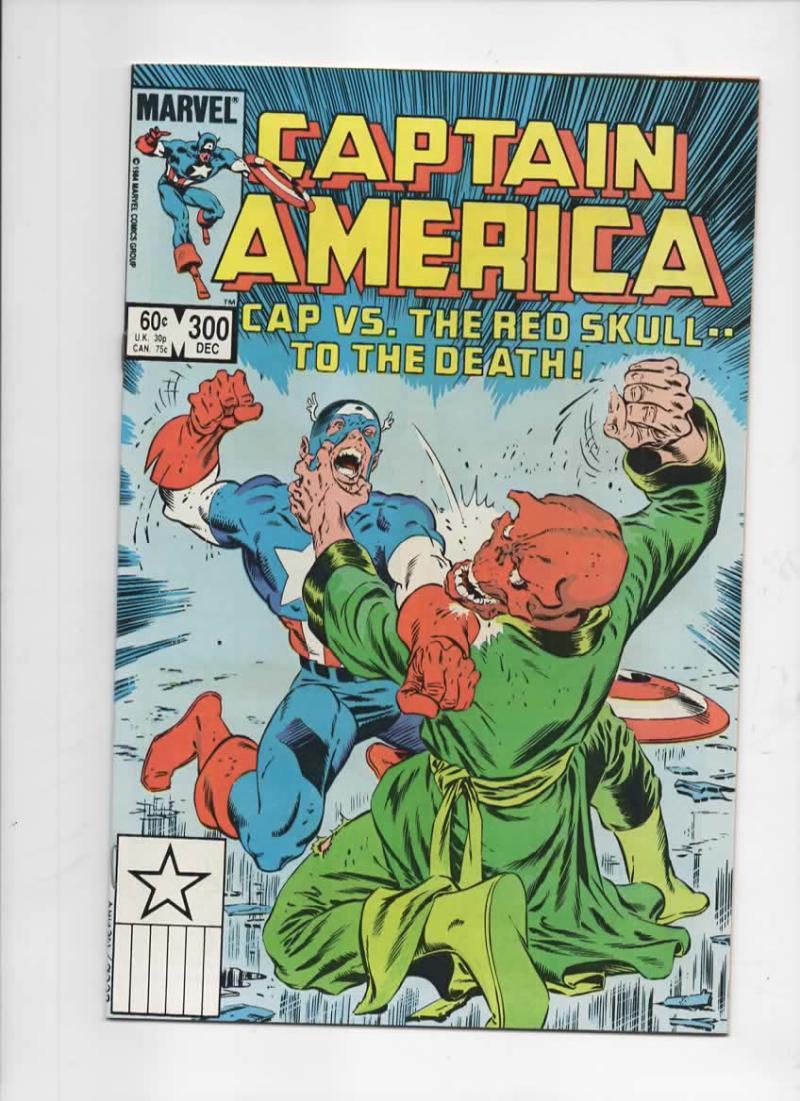 CAPTAIN AMERICA #300, NM, Red Skull 1968 1984, more CA in store