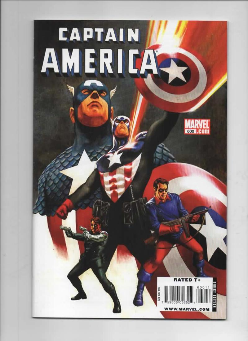 CAPTAIN AMERICA #600, NM, Marvel 1968 2009, more CA in store