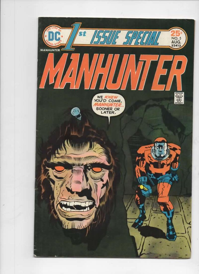 1st ISSUE SPECIAL #5, FN, Jack Kirby, First, ManHunter, more JK in store