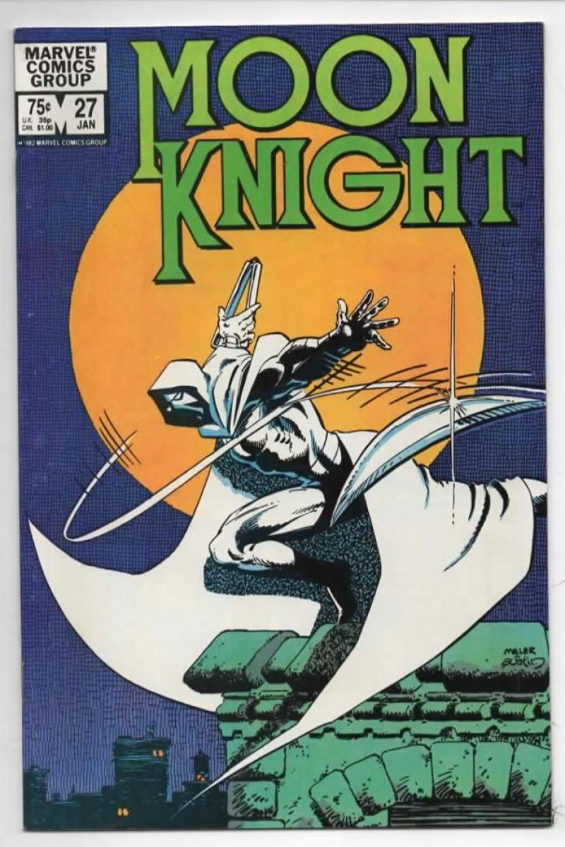 MOON KNIGHT #27, VF+, 1980 1982, Sienkiewicz, Cop Killer, Miller, more Bronze & Marvel in store