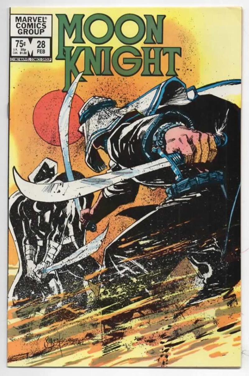 MOON KNIGHT #28, VF, 1980 1982, Sienkiewicz, more Bronze & Marvel in store