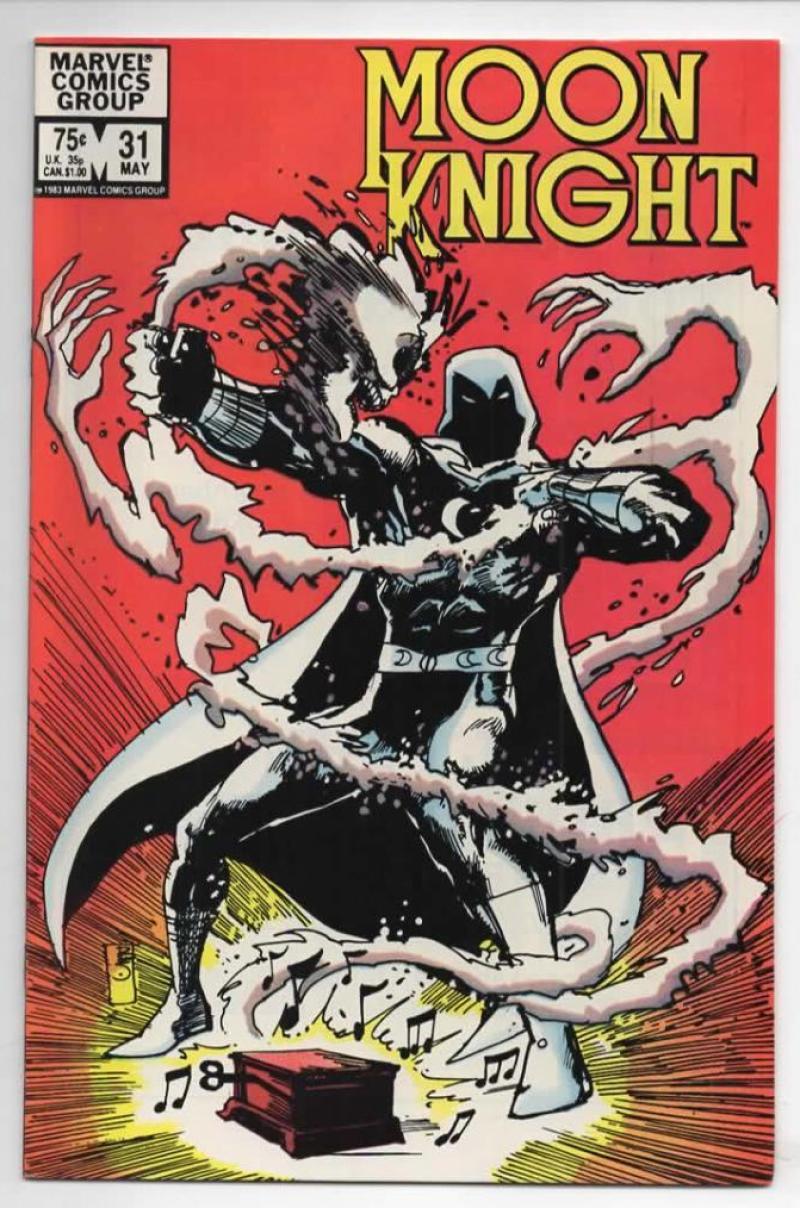 MOON KNIGHT #31, VF+, 1980 1983, Sienkiewicz, Savage Studs, more Bronze & Marvel in store
