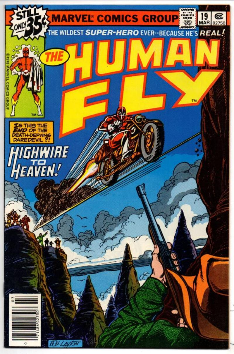 HUMAN FLY #19, VF/NM, Heaven, 1977 1979, Bronze age, more Marvel in store