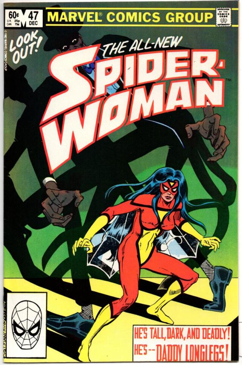 SPIDER-WOMAN #47 VF/NM, Twisted, 1978 1982 Marvel Bronze age