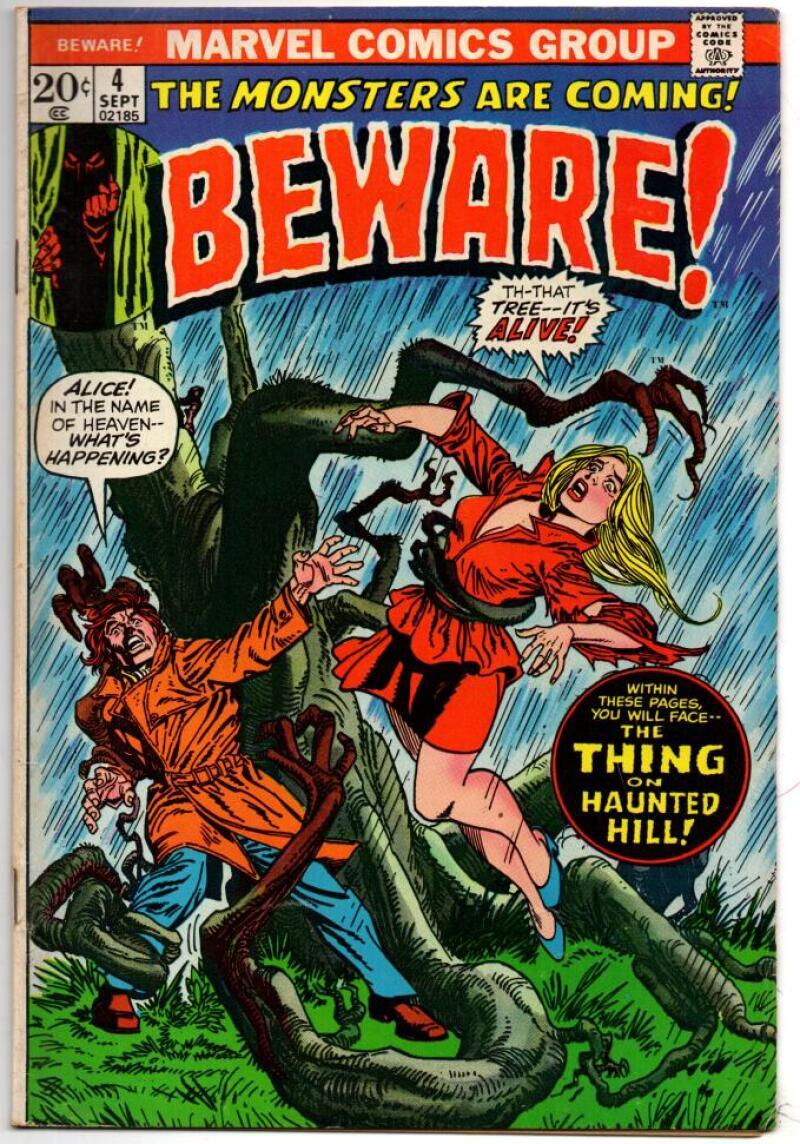 BEWARE #4, FN, Horror, Carmine Infantino, 1973, Bronze age