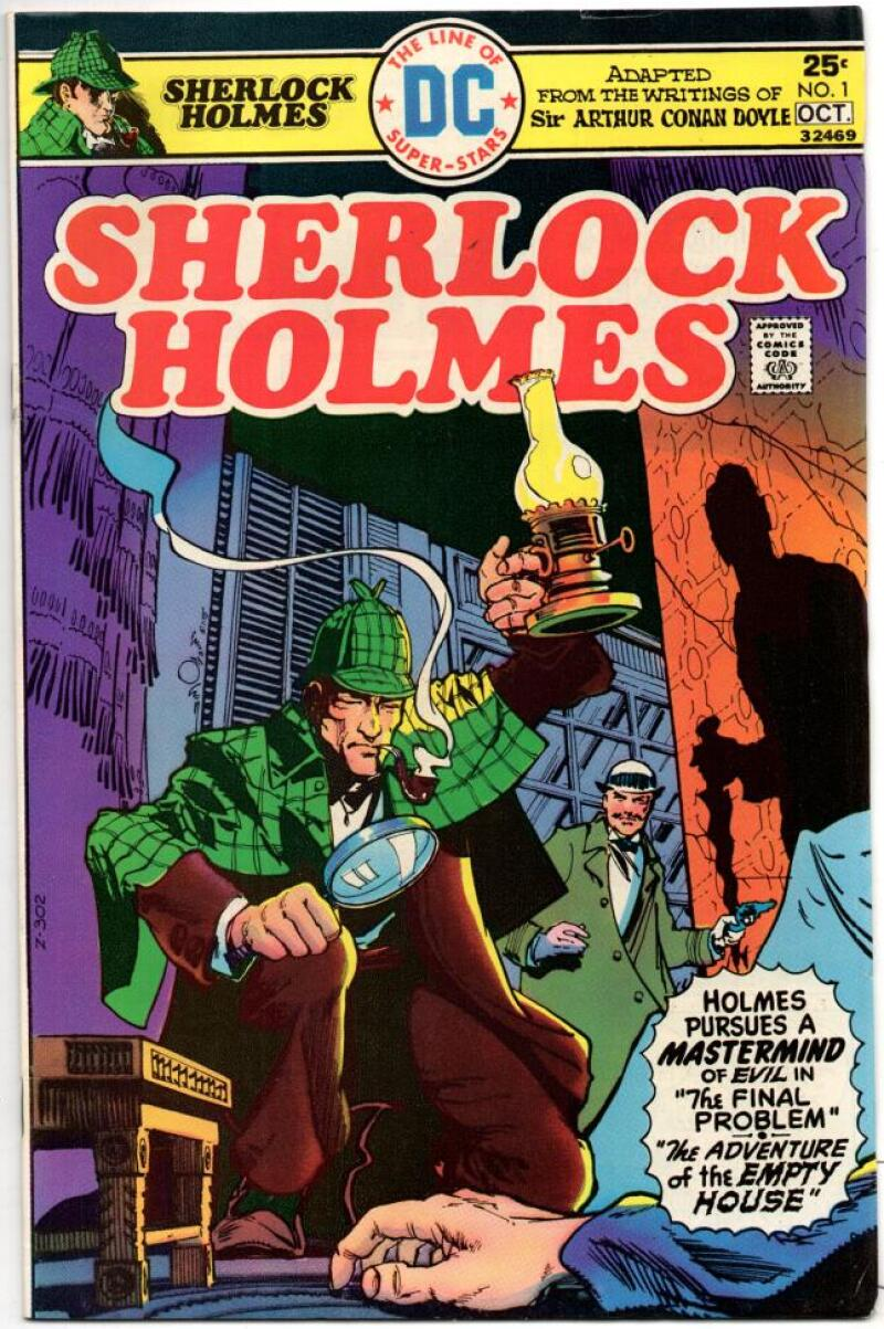SHERLOCK HOLMES #1, VF+, Sir Arthur Conan Doyle, 1975, more in store