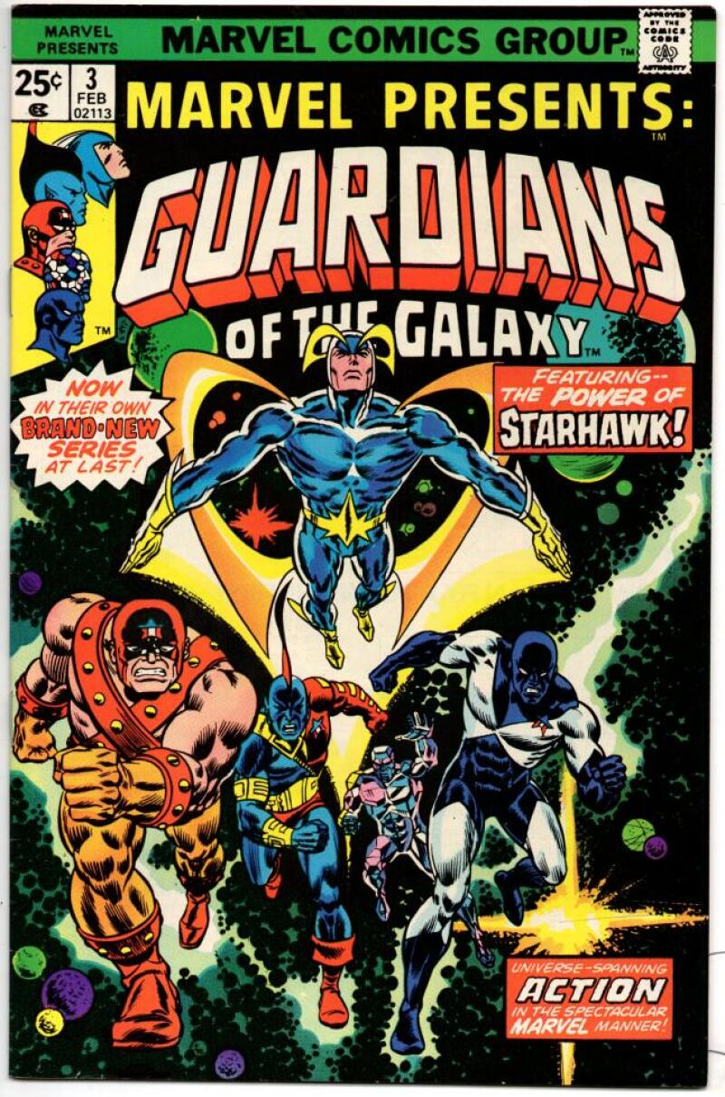 MARVEL PRESENTS #3, VF+, Guardians of the Galaxy, 1975 1976, more Bronze in store