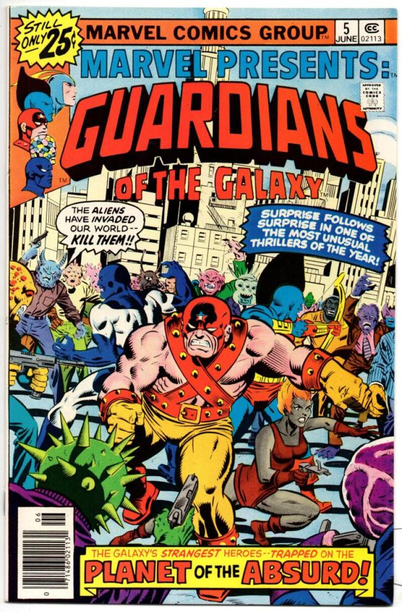 MARVEL PRESENTS #5, VF/NM, Guardians of the Galaxy, 1975 1976, more Bronze in store
