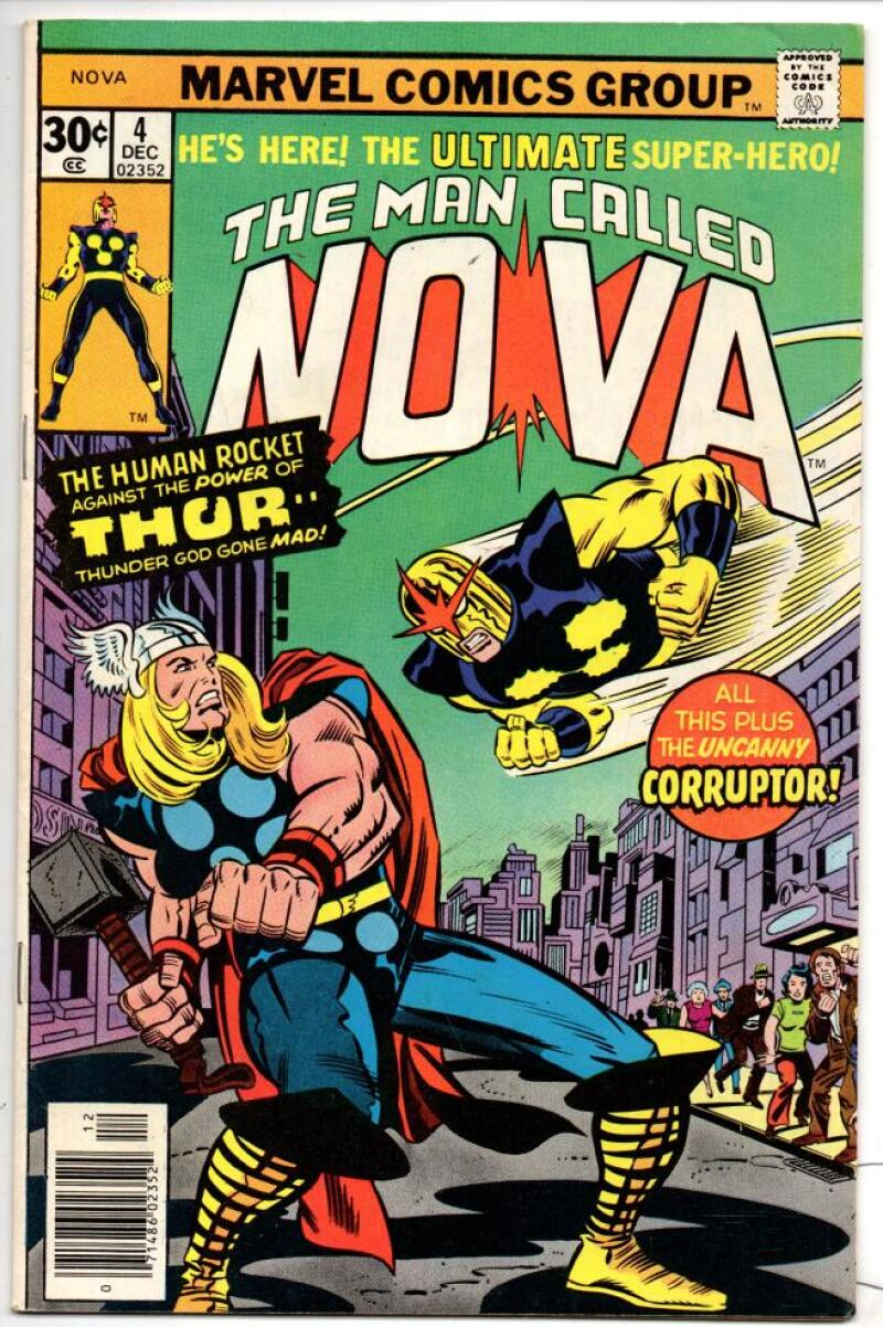NOVA #4, FN+, Thor, Buscema, Buscema, Wolfman, 1976, more in store