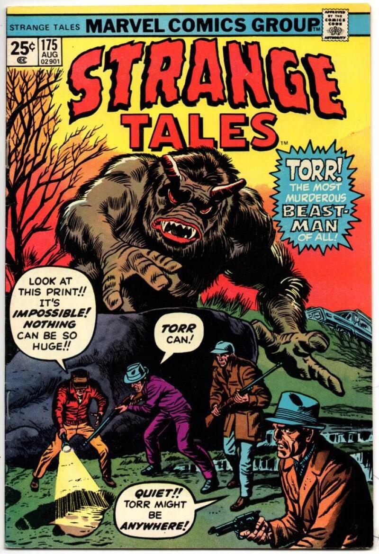 STRANGE TALES #175, VF, Torr Beast Man, 1951 1974, more in store