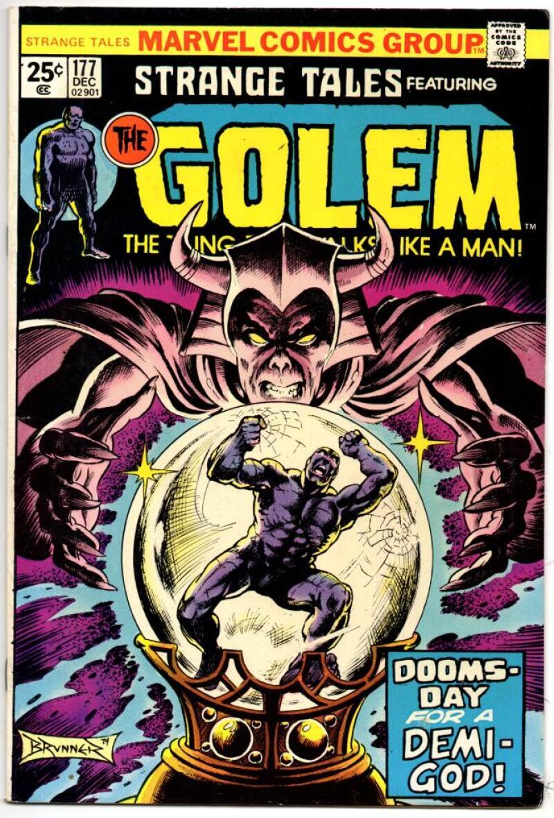 STRANGE TALES #177, FN, Golem, 1951 1974, more in store