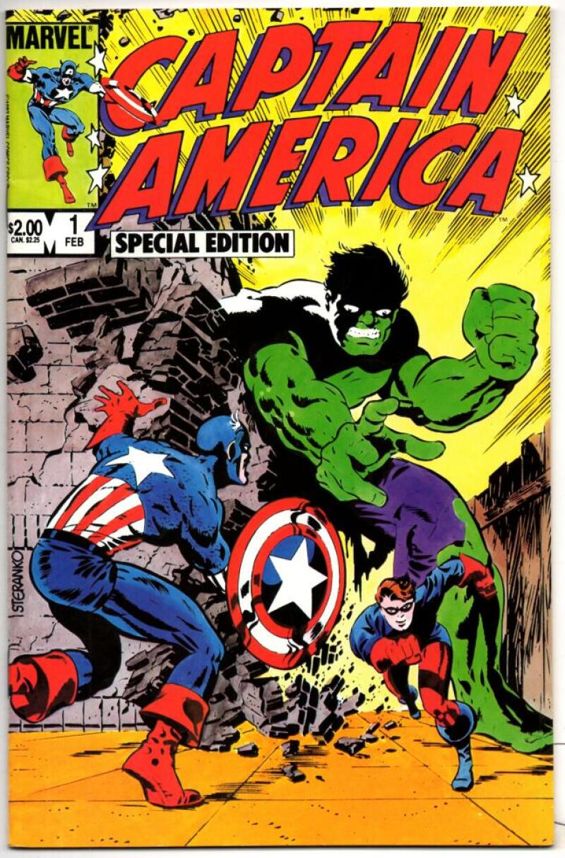 CAPTAIN AMERICA Special Edition #1, VF/NM, Hulk 1984, more CA and Marvel in store