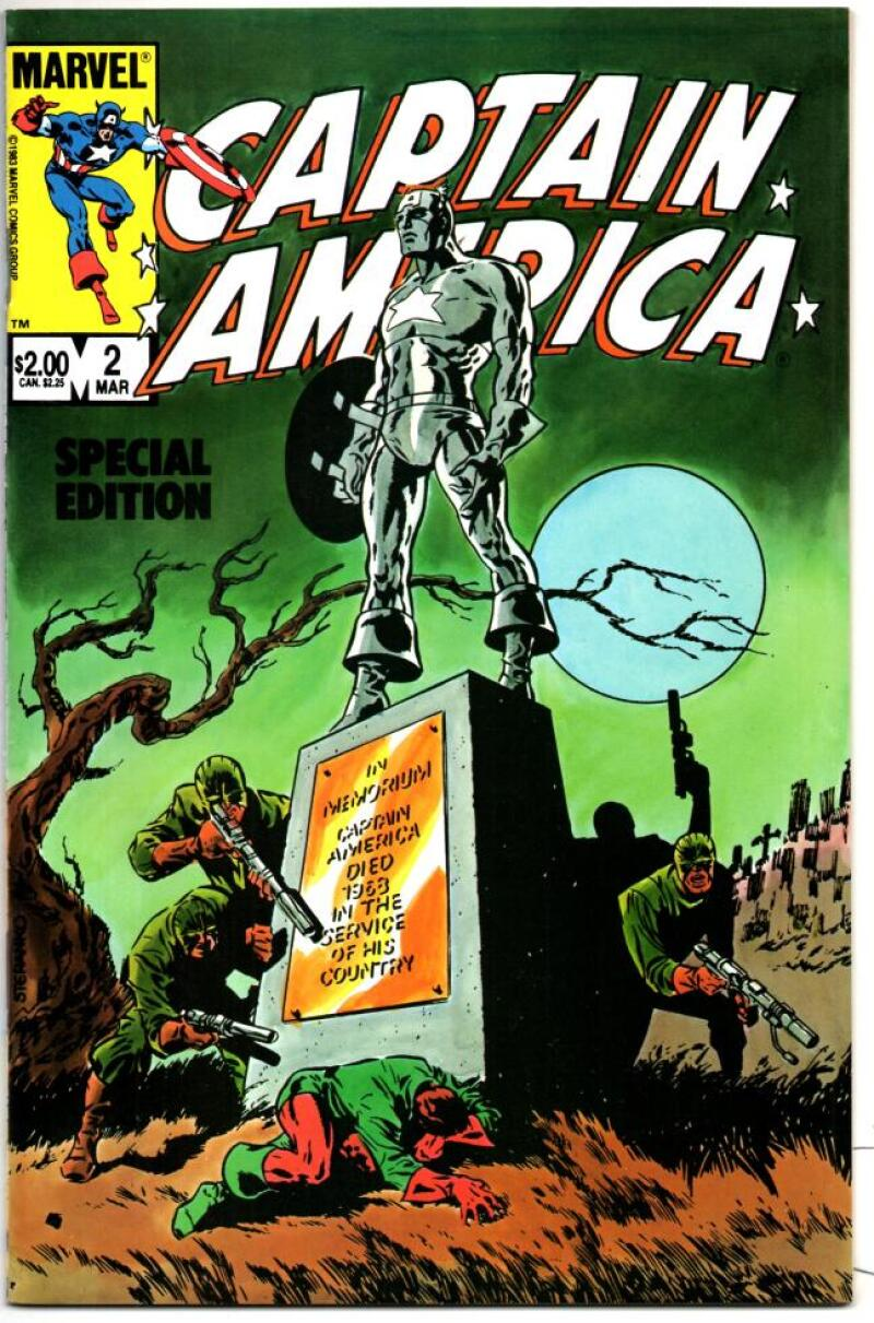 CAPTAIN AMERICA Special Edition #2, NM-, Nick Fury 1984, more CA and Marvel in store