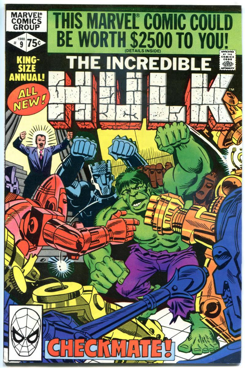 HULK Annual #9, VF/NM, Incredible, Steve Ditko, 1968, more Marvel in store