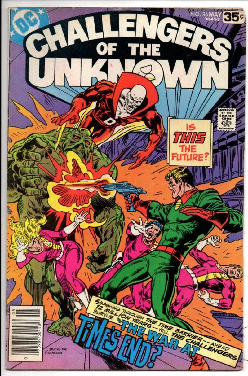 CHALLENGERS of the UNKNOWN #86, FN/VF, Swamp Thing, 1978, more DC in store