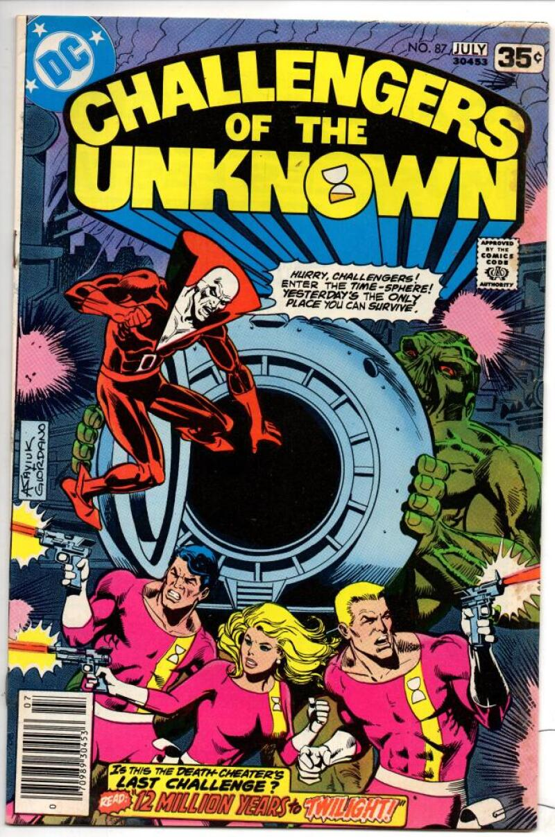 CHALLENGERS of the UNKNOWN #87, FN/VF, Swamp Thing, 1978, more DC in store