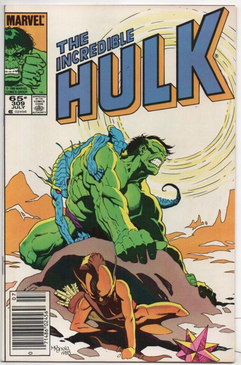HULK #309, VF-, Incredible, Bruce Banner, Mignola, 1968 1985, Marvel