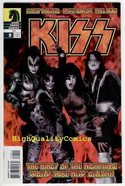 KISS #8, NM, Rock 'n Roll, Gene Simmons, Photo cv, Stanley, more in store