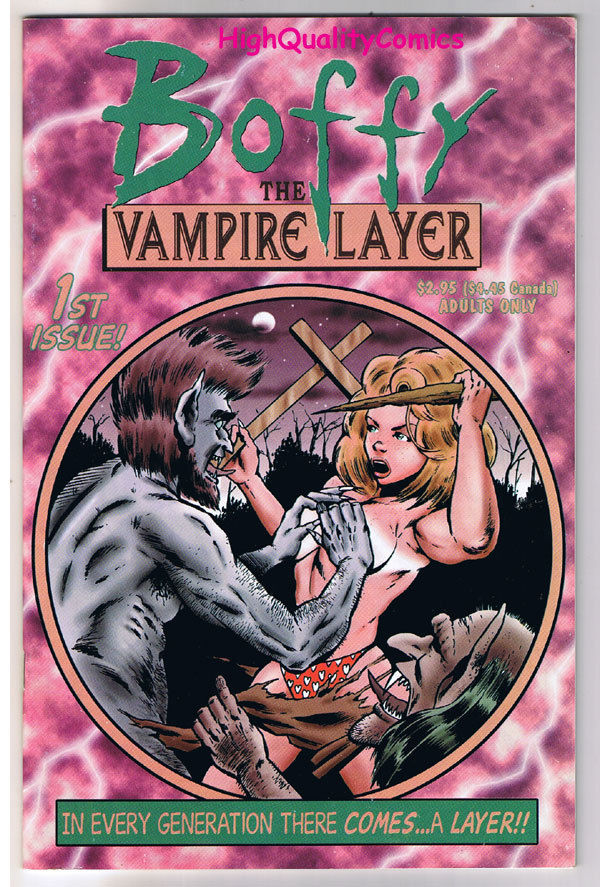 BOFFY the VAMPIRE LAYER #1, Adult, Buffy, Sex,2000, NM-